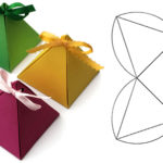 Подарочная коробка в виде пирамидки своими руками